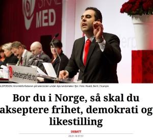 Bor du i Norge