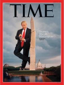 Trump på Time
