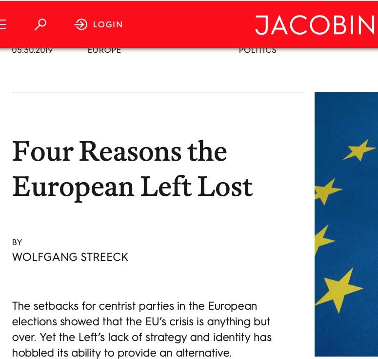 Streeck i Jacobin