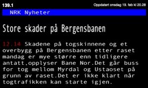 NRK- Buss til Myrdal