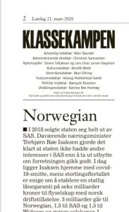 Leder KK Norwegian