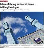 Islamofobi og antisemittisme — tvillingideologier