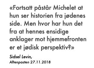 Sitat Levin om jødisk perspektiv