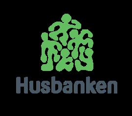 Husbanken hovedlogo midtstilt