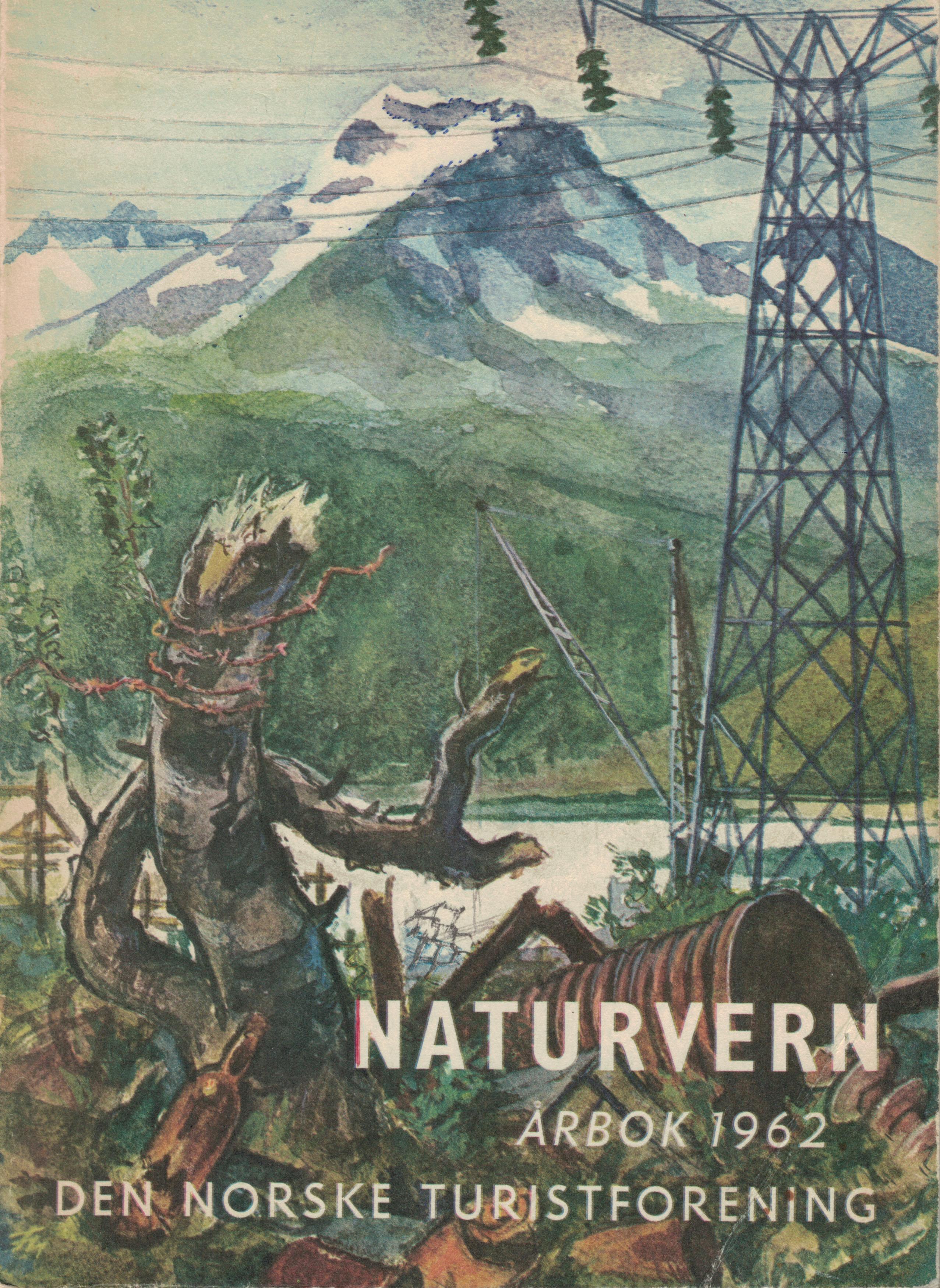 DNT-årbok 1962 forsida